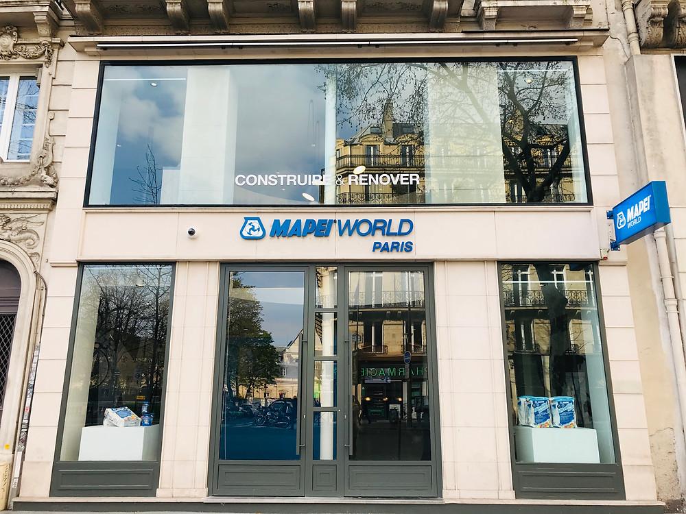 MAPEI WORLD PARIS, un lieu de vie, d'échange et de formation au coeur de Paris. Une source d'inspiration pour vos projets !