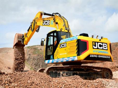 JCB lanza al mercado la 1ra. excavadora impulsada por hidrógeno