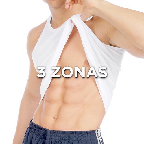 3 Zonas a Elección | 24 Sesiones | ToneUp
