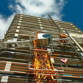 El costo de construcción cayó 4,2% en dólares el último mes