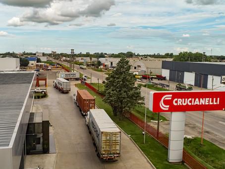Crucianelli exportó dos sembradoras Plantor a Rusia