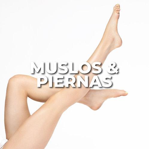Muslos y Piernas | 6 Sesiones