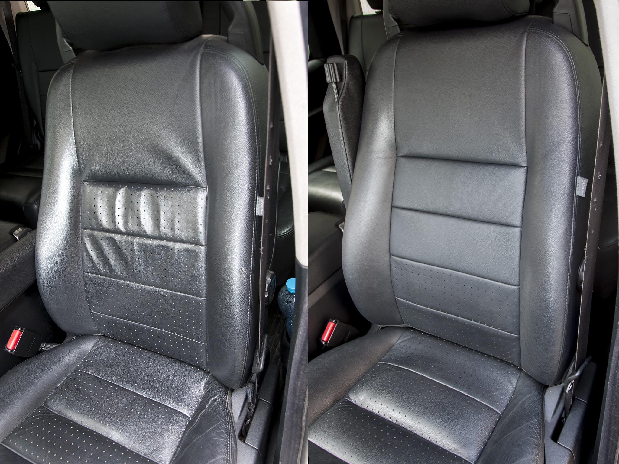 oprava kožené sedačky v Land Rover výměnou kůže