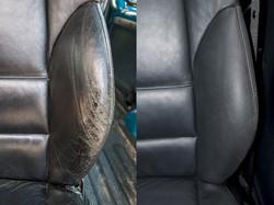 oprava kožené sedačky BMW 3er E46