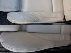 oprava kožené sedačky BMW X6