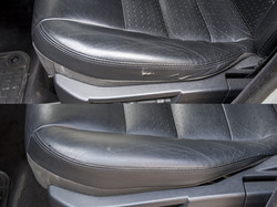 oprava kožené sedačky Land Rover