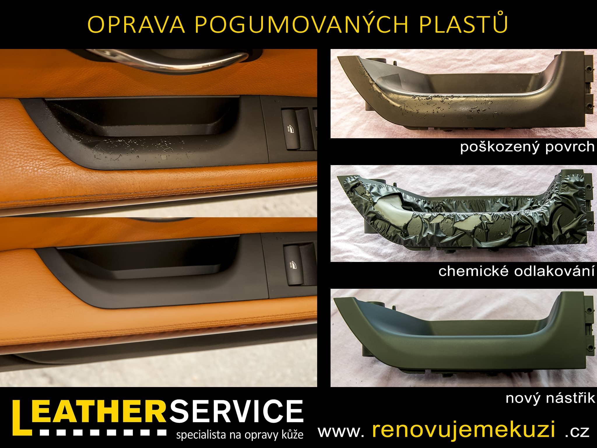 Oprava pogumovaných plastů BMW 335i