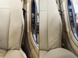 oprava kúže na sedačce BMW 6er
