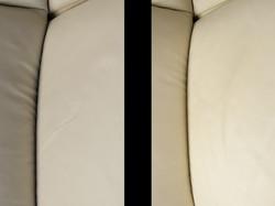 oprava poškrábané kožené sedačky