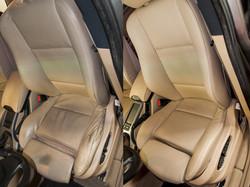 oprava kožené sedačky BMW X5