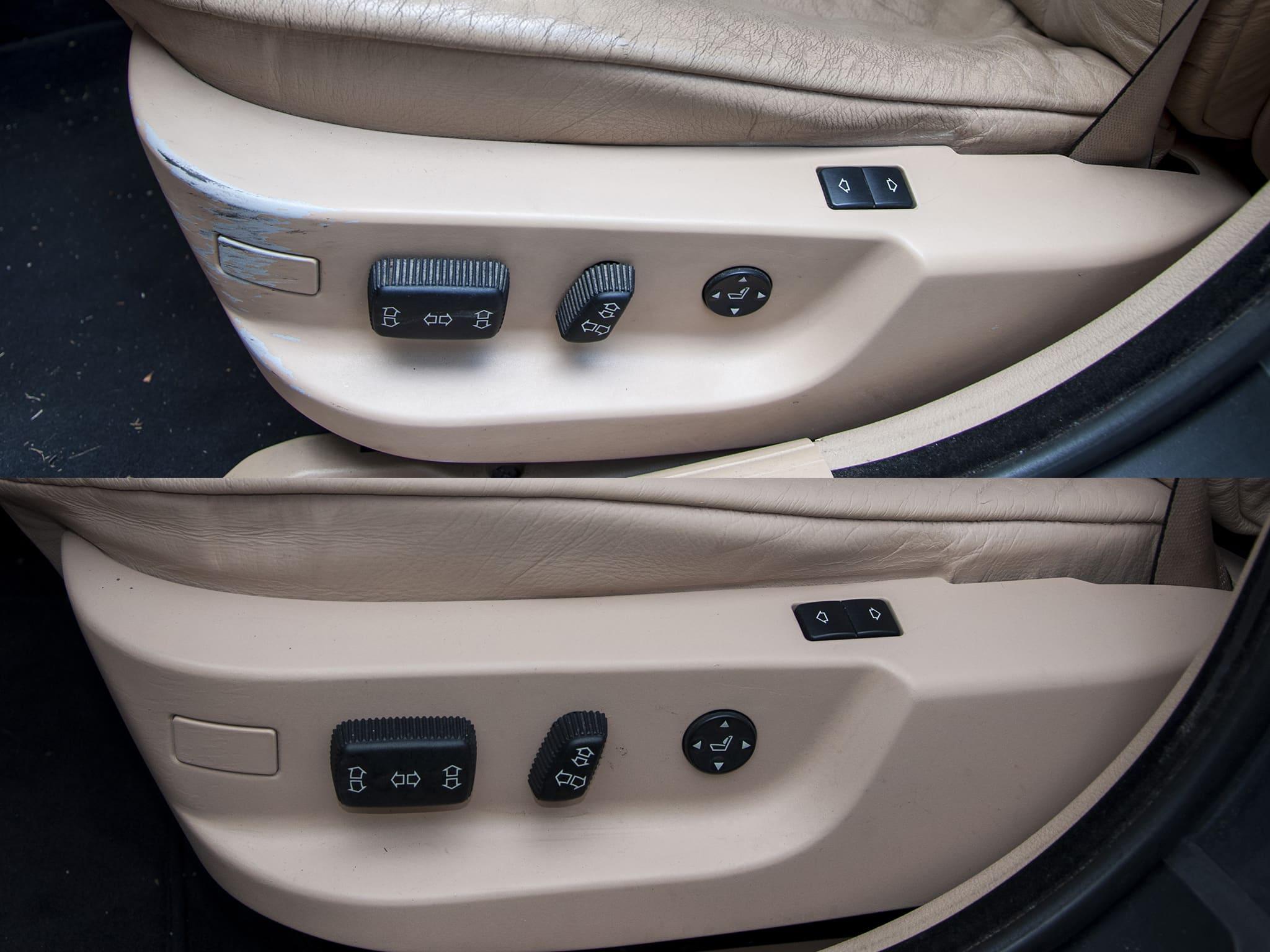 Oprava barevných plastů BMW 5er E39