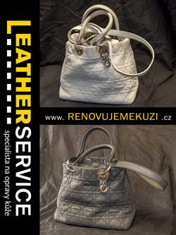 změna barvy kabelky