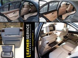 Individuální úprava barvení kůže v BMW 5er E39