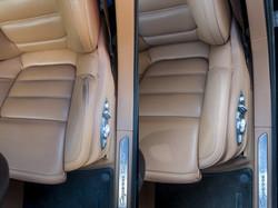 oprava kůže Porsche Cayenne