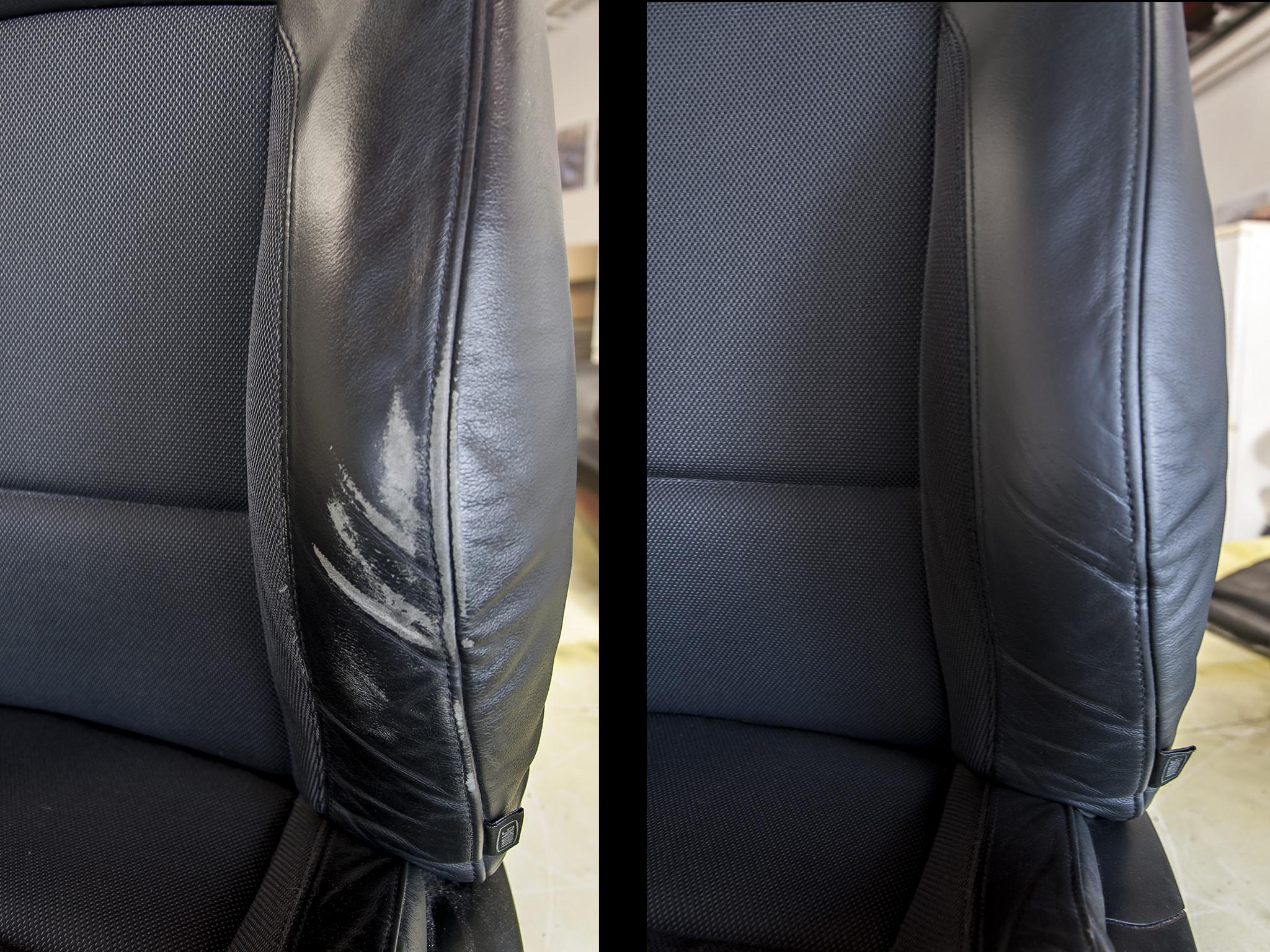 oprava sedačky BMW