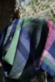 tessitura in dettaglio, lana merinos