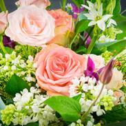 Blumensträusse und Blumengestecke