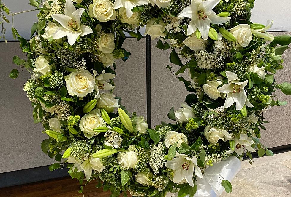 Trauerkranz, Blütenkranz M