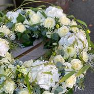 Trauerkranz, Blütenkranz