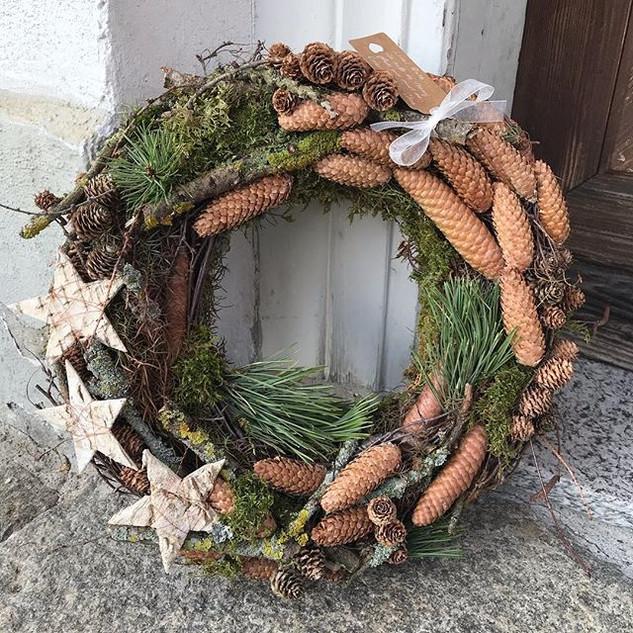 Winterkranz, Weihnachtskranz