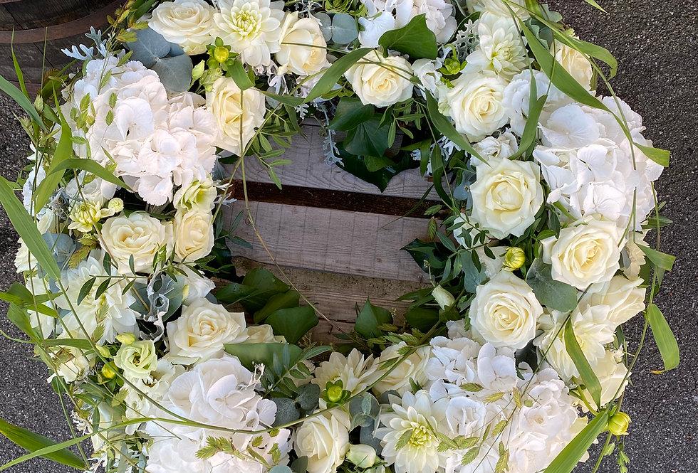 Trauerkranz, Blütenkranz L