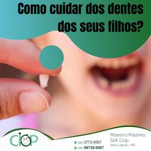 Cuidados com os dentes do seu filho.
