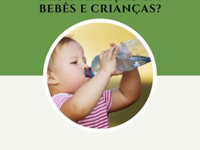 Desidratação em bebês e crianças?