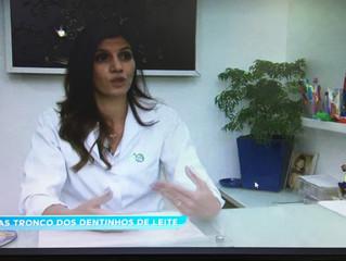 Confira a reportagem gravada na Ciop sobre células tronco dos dentinhos de leite...