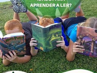 Idade conta para aprender a ler⁉️