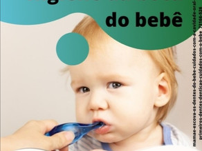 Higiene da boca do bebê!