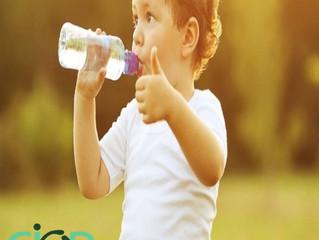Quanto de água a criança deve ingerir