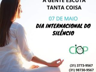 Dia internacional do silêncio.