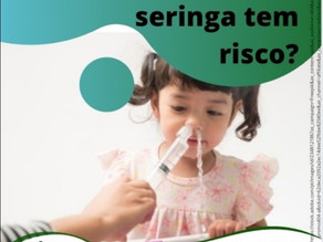 Lavar o nariz com seringa tem risco?