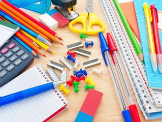 Material escolar, reduza gastos