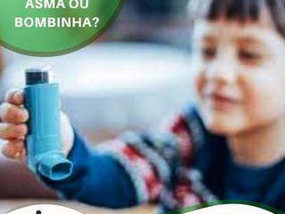 Bombinha não mata o que mata é Asma!!