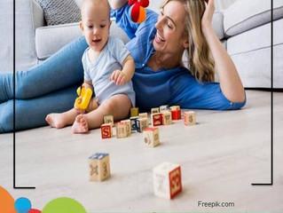 Ensine seu bebe a brincar sozinho..