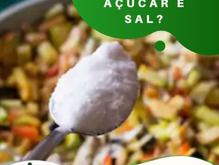 Quanto de açúcar👶👀 e sal posso usar para meu filho?