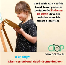 Dia Internacional da Síndrome de Down!