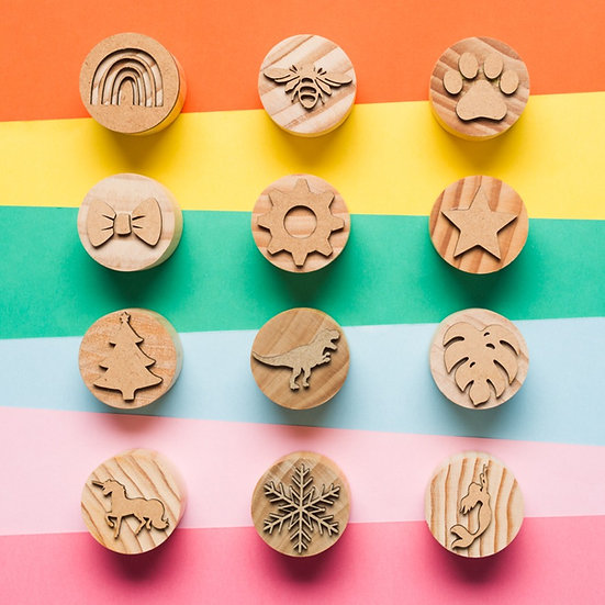 Play dough Stamps