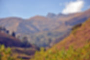 Die Cordillera Tunari in Bolivien