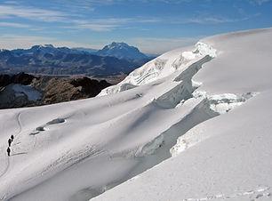 Die Cordillera Real in Bolivien