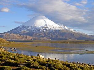 Die Cordillera Occidental in Bolivien