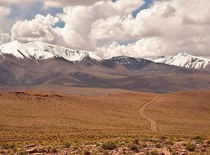 Die Cordillera los Lipez in Bolivien