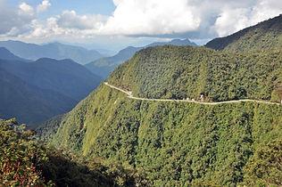 Die Yungas in Bolivien
