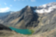 Die Cordillera Quimza Cruz in Bolivien