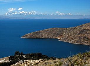 Der Titicacasee in Bolivien