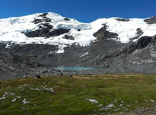 Die Cordillera Apolobamba in Bolivien