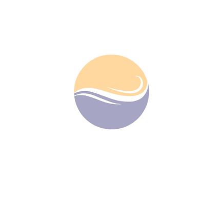 Blue And Orange Minimalist Water Logo.pn