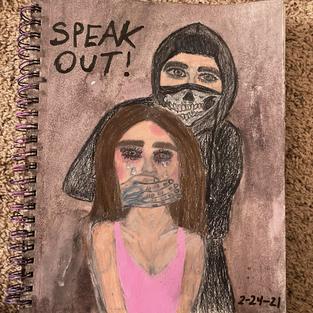 Speak Out by Sofia DeSantiago