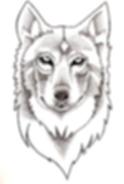 Loup pointillisme.jpg